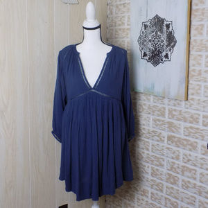 Free People Dress in navy blue